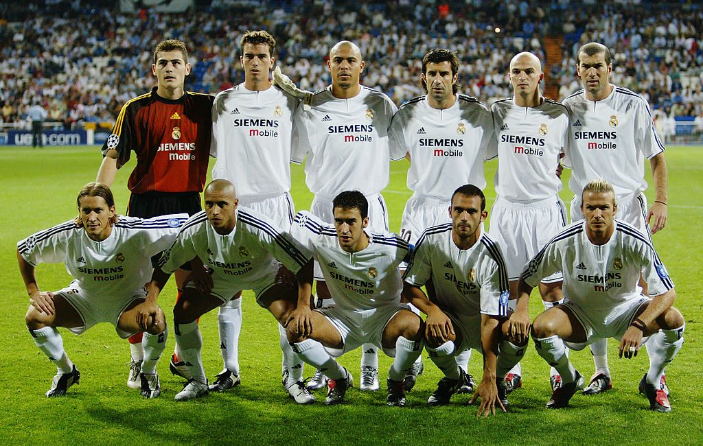 The Real Madrid team group