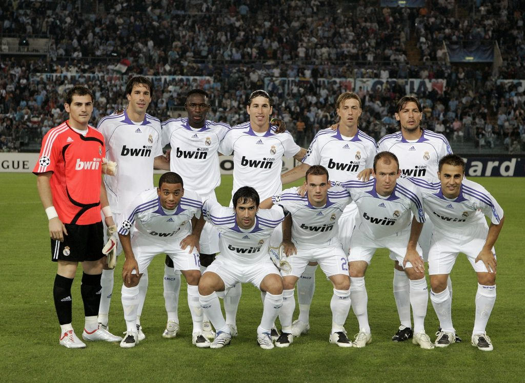 Lazio v Real Madrid - UEFA Champions League