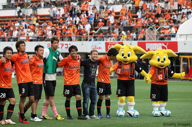 Shimizu S-Pulse v Vegalta Sendai - J.League 2013