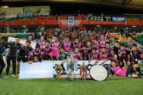 アルビレックス新潟シンガポール、国内主要タイトルを独占。「純日本人チーム」が異国の地で掴んだ栄光への道のり