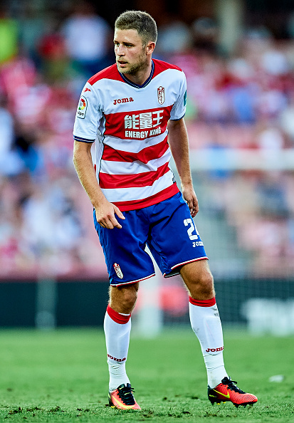 GRANADA, SPAIN - SEPTEMBER 11:  Artem Anatoliovich Kravets of Granada CF looks on during the match between Granada CF vs SD Eibar as part of La Liga at Nuevo los Carmenes Stadium on September 11, 2016 in Granada, Spain.  (Photo by Aitor Alcalde Colomer/Getty Images)