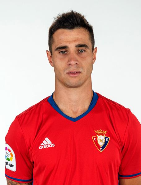 "Spain - La Liga Santander 2016-2017 /  ( Club Atletico Osasuna ) -  Jaime Romero Gomez "" Jaime Romero """