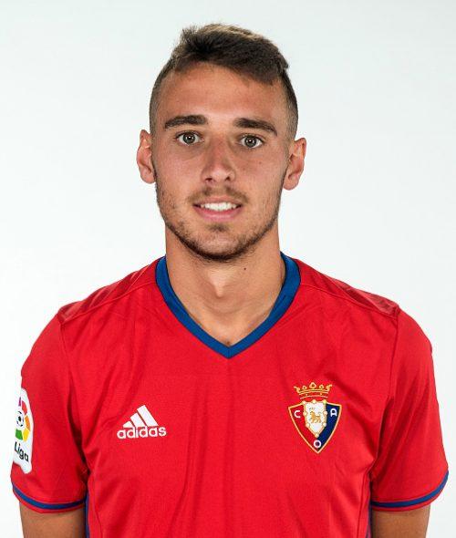 """Spain - La Liga Santander 2016-2017 /  ( Club Atletico Osasuna ) -  Imanol Garcia Lugea """" Imanol Garcia """""""