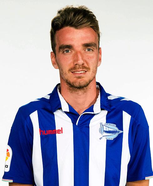 "Spain - La Liga Santander 2016-2017 /  ( Deportivo Alaves ) -  Manuel Barreiro Bustelo "" Manu Barreiro """