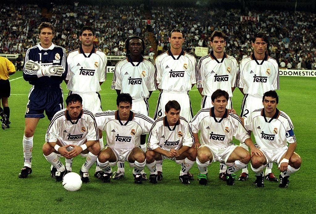 Real Madrid team group