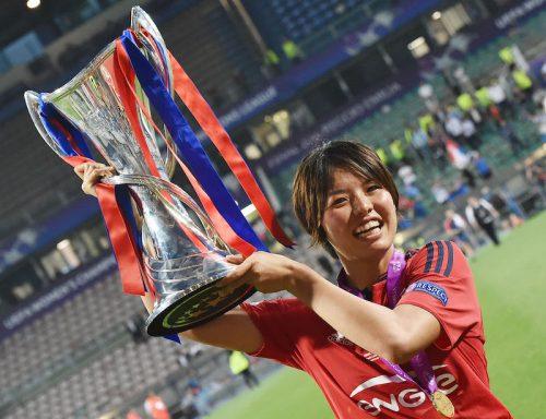 ●なでしこDF熊谷、FIFA女子最優秀選手候補にアジアから唯一選出! リヨンで三冠貢献