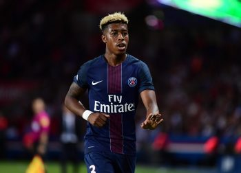Kimpembe Presnel of PSG during the French Ligue 1 match between Paris Saint Germain and AS Saint Etienne at Parc des Princes on September 9th, 2016 in Paris, France. (Photo by Dave Winter/Icon Sport) (Photo by Dave Winter/Icon Sport via Getty Images)