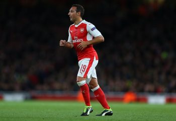 LONDON, ENGLAND - OCTOBER 19: Santi Cazorla of Arsenal during the UEFA Champions League match between Arsenal FC and PFC Ludogorets Razgrad at Emirates Stadium on October 19, 2016 in London, England. (Photo by Catherine Ivill - AMA/Getty Images)