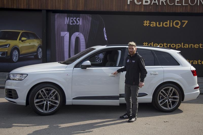 バルセロナの選手たちもアウディから高級車を支給された [写真]=Anadolu Agency/Getty Images