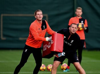 LIVERPOOL, ENGLAND - OCTOBER 27:  (THE SUN OUT, THE SUN ON SUNDAY OUT) Loris Karius of Liverpool during a training session at Melwood Training Ground on October 27, 2016 in Liverpool, England.  (Photo by John Powell/Liverpool FC via Getty Images)