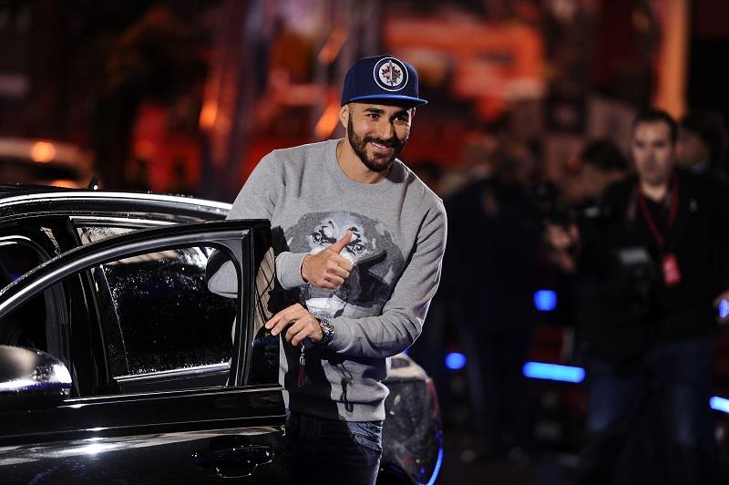 レアル・マドリードの選手の方が比較的高額な車を選択した [写真]=Anadolu Agency/Getty Images