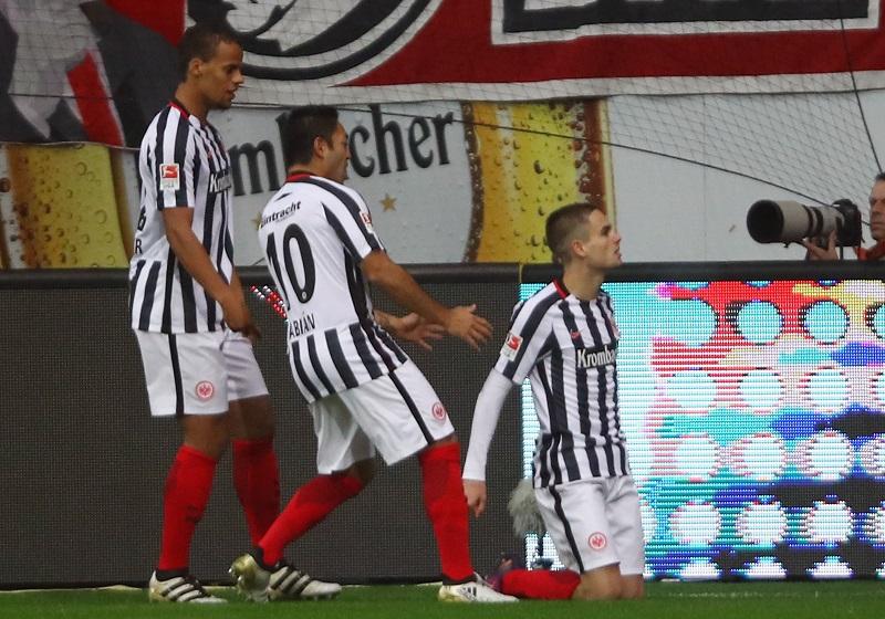 ガチノヴィッチ(右)が先制ゴールを挙げる [写真]=Getty Images