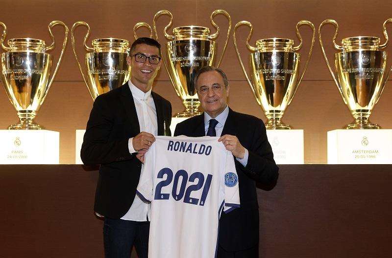 レアル・マドリードと2021年6月末まで契約を延長した [写真]=Real Madrid via Getty Images