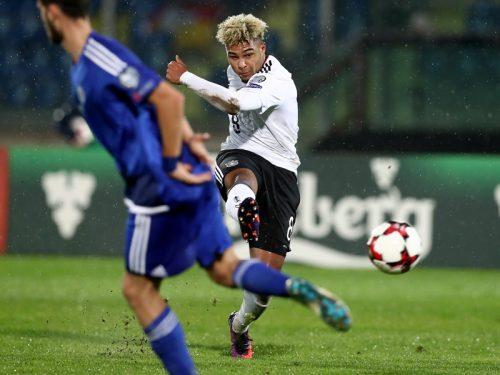 ●21歳ニャブリ、代表デビュー戦でハット達成! ドイツが8発、サンマリノに圧勝