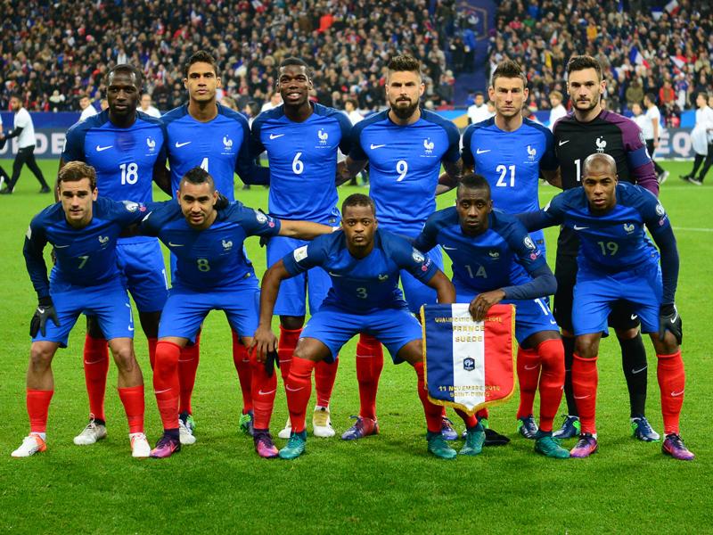 フランスの先発メンバー [写真]=Icon Sport via Getty Images