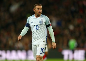 LONDON, ENGLAND - NOVEMBER 11: Wayne Rooney of England during the FIFA 2018 World Cup Qualifier between England and Scotland at Wembley Stadium on November 11, 2016 in London, England. (Photo by Catherine Ivill - AMA/Getty Images)