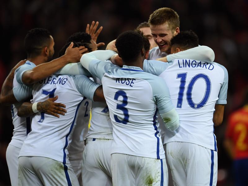 ヴァーディのゴールでイングランドがリードを広げた [写真]=Getty Images