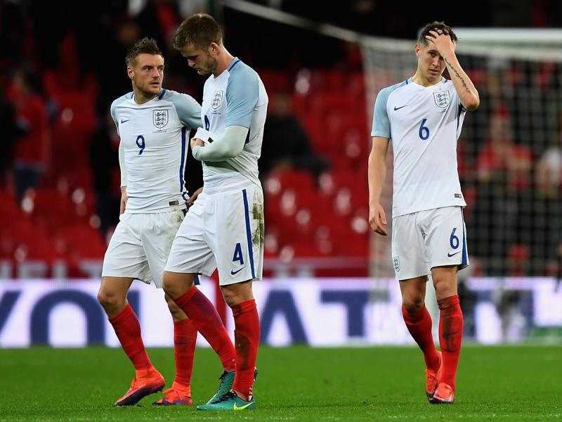 終盤の連続失点で勝利を逃したイングランド [写真]=Getty Images