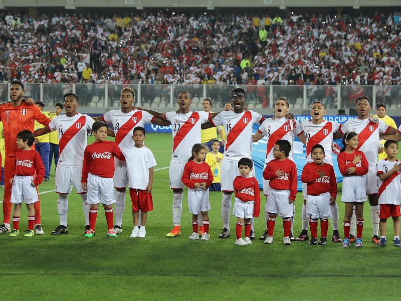 ペルーがホームにブラジルを迎えた [写真]=LatinContent/Getty Images