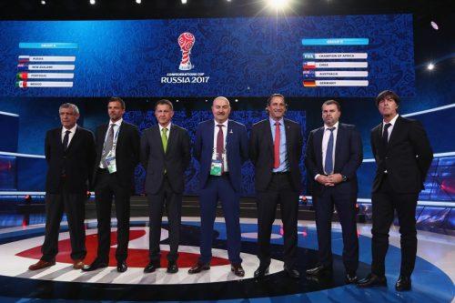 ●コンフェデ2017の組み合わせ決定…欧州王者ポルトガルは開催国ロシアらと同居