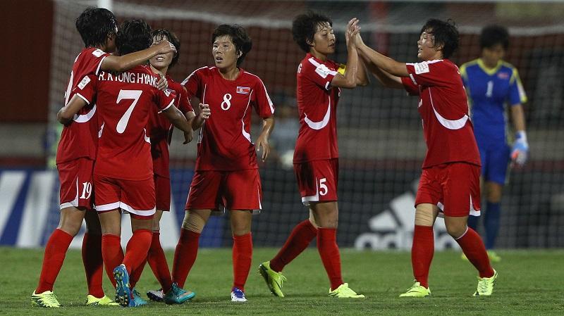 アメリカを下し決勝進出を決めた北朝鮮 [写真]=Getty Images
