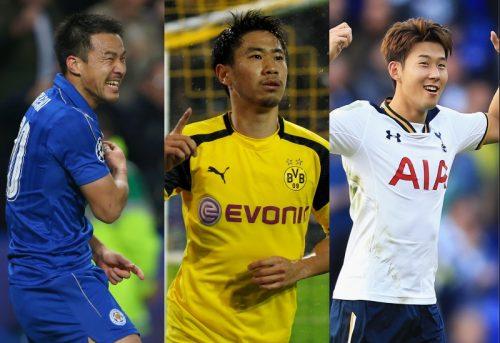 ●アジア国際年間最優秀選手賞候補が発表…岡崎、香川、ソン・フンミンの3名!