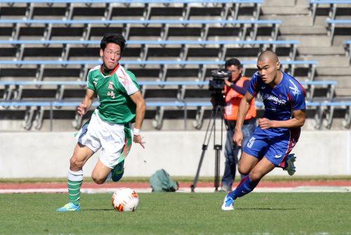 ●甲斐のライバル対決、山梨学院に軍配。韮崎MF村松が魅せるも惜しくも及ばず