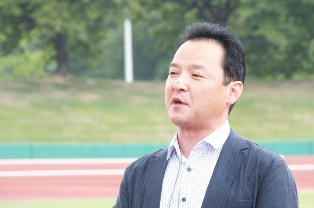 明治安田生命の宮本勉四日市支社長は、「Jクラブを三重県に誘致する」という目標を掲げている