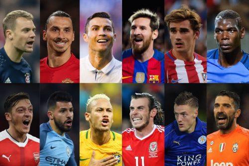 FIFA男子最優秀選手の候補23名が発表…C・ロナ、メッシ、ネイマールら選出