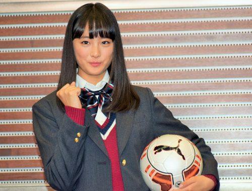 ●大友花恋、高校選手権マネージャーに就任! 好きな選手は岡崎慎司「情熱的にプレーする姿がかっこいい」