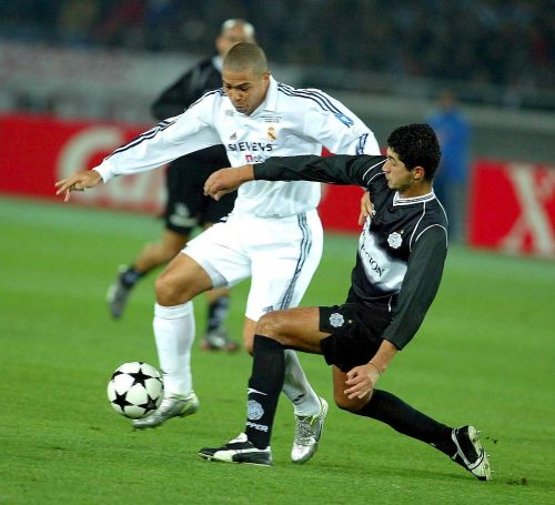 Ronaldo of Real Madrid