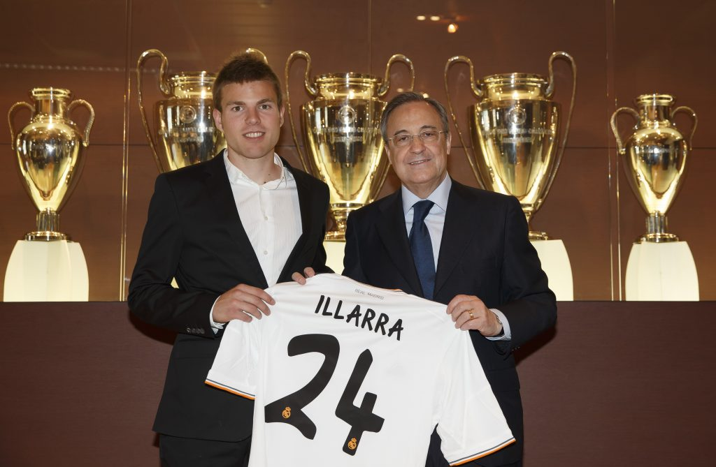 Asier Illarramendi New Real Madrid Signing Press Conference