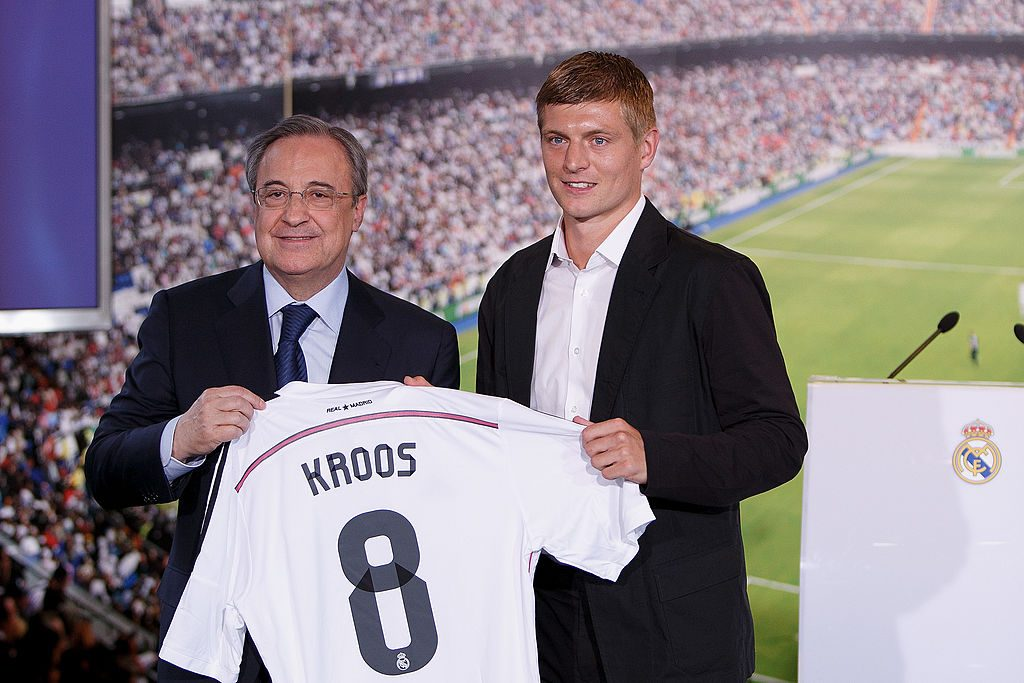 Toni Kroos Officially Unveiled At Real Madrid