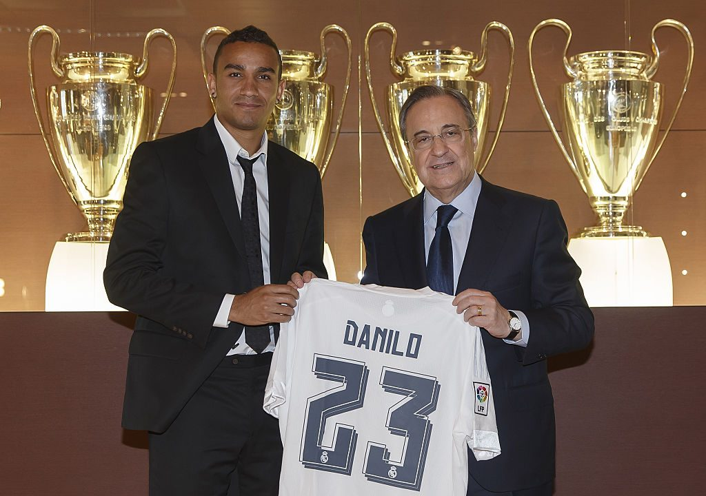 Real Madrid Officially Present New Signing Danilo