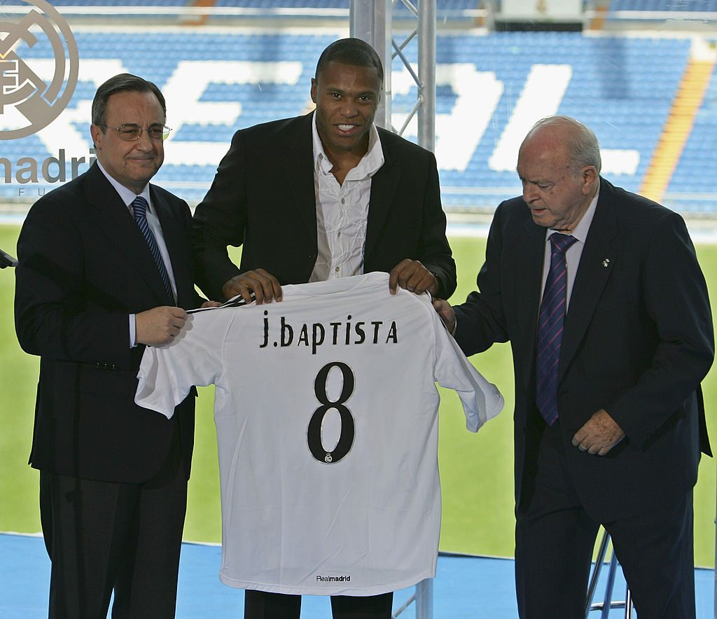 Julio Baptista Signs For Real Madrid