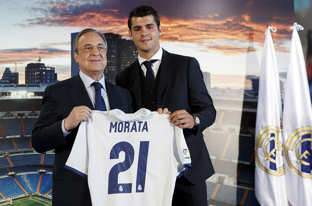 Alvaro Morata Officially Presented by Real Madrid
