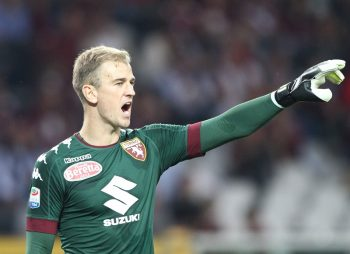 Torino goalkeeper Joe Hart (21) during the Serie A football match n.7 TORINO - FIORENTINA on 02/10/2016 at the Stadio Olimpico Grande Torino in Turin, Italy. Copyright 2016  Matteo Bottanelli