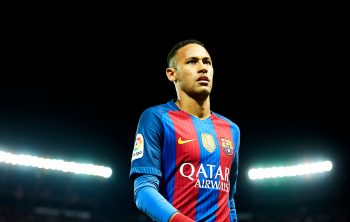 SEVILLE, SPAIN - NOVEMBER 06:  Neymar Jr of FC Barcelona looks on during the match between Sevilla FC vs FC Barcelona as part of La Liga at Ramon Sanchez Pizjuan Stadium on November 6, 2016 in Seville, Spain.  (Photo by Aitor Alcalde/Getty Images)