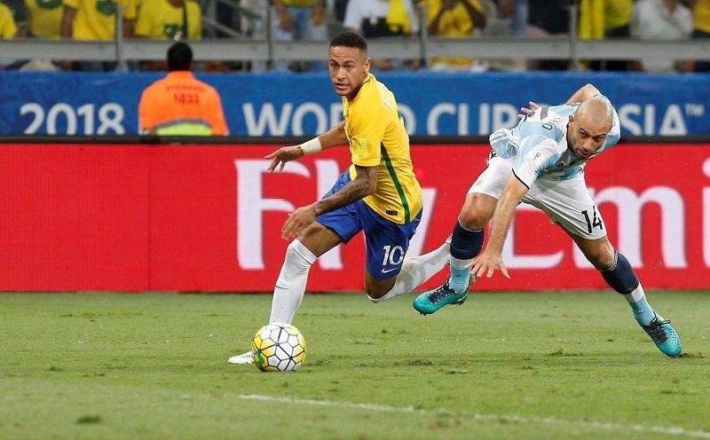 ブラジル対アルゼンチン