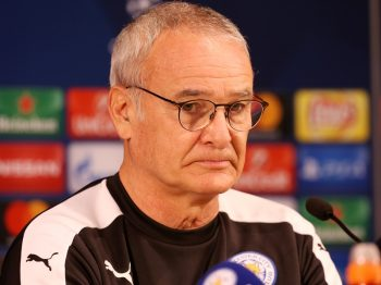 PORTO, PORTUGAL - DECEMBER 06: Manager Claudio Ranieri of Leicester City talks to the media ahead the Champions Leagues match between FC Porto and Leicester City at Estadio do Dragao on December 06, 2016 in Porto, Portugal.  (Photo by Plumb Images/Leicester City FC via Getty Images)
