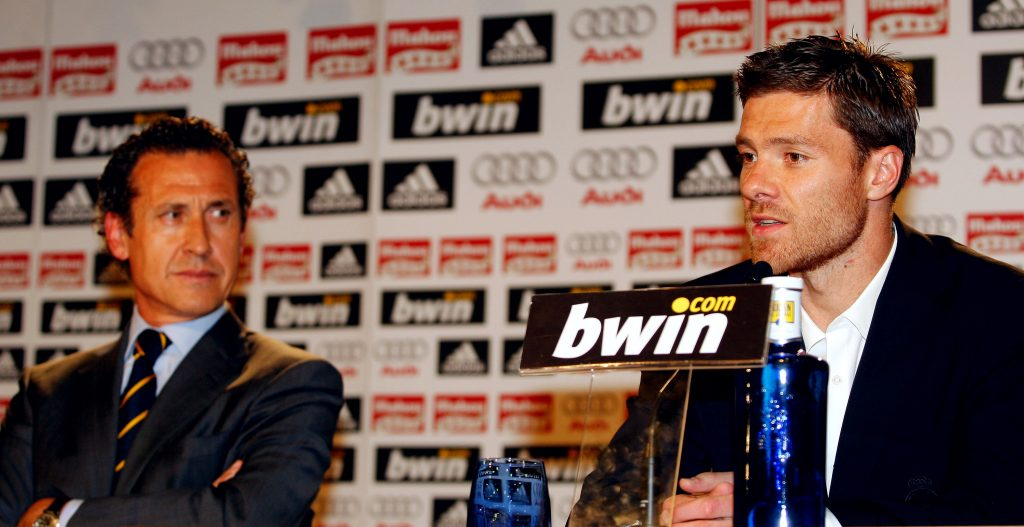 Xabi Alonso Attends Real Madrid Press Conference