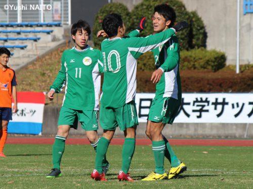 ●3年ぶりのインカレ制覇へ、大阪体育大がベスト8進出…法政大に3発快勝