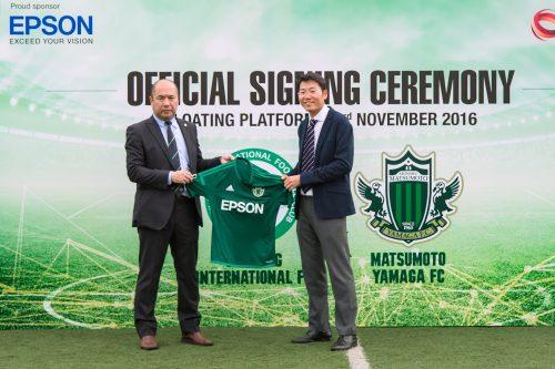 シンガポール「ゲイラン・インターナショナルFC」、松本山雅と業務提携 選手獲得も視野に