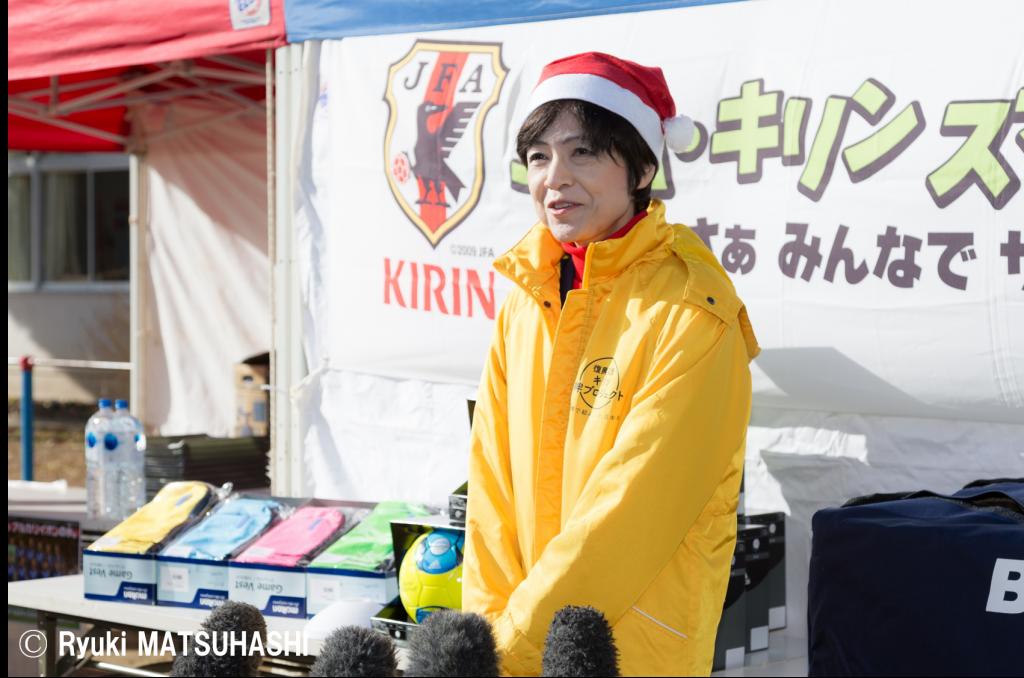 キリンの坪井純子執行役員は「継続することが必要だと思っています」と、継続的な復興支援活動の重要性を語った