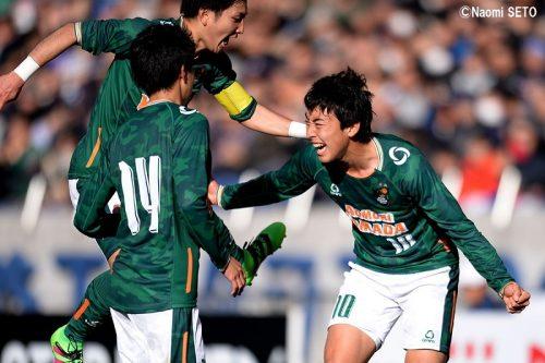 ●青森山田が悲願の選手権初優勝! 攻撃力爆発、5ゴールで前橋育英下し2冠達成
