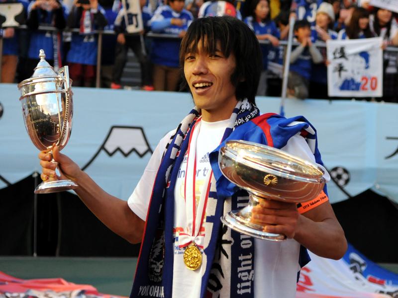 2013シーズン、リーグ優勝は叶わなかったが、天皇杯を制した [写真]=Getty Images