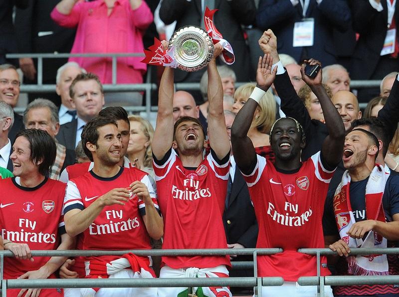 2013-14シーズンにFAカップを制したアーセナル [写真]=Getty Images