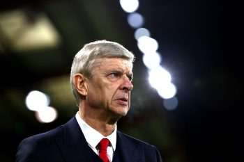 BOURNEMOUTH, ENGLAND - JANUARY 03:  Arsene Wenger, Manager of Arsenal looks on prior to the Premier League match between AFC Bournemouth and Arsenal at Vitality Stadium on January 3, 2017 in Bournemouth, England.  (Photo by Michael Steele/Getty Images)