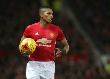 MANCHESTER, ENGLAND - JANUARY 10:  Antonio Valencia of Manchester United in action  during the EFL Cup Semi-Final first leg match between Manchester United and Hull City at Old Trafford on January 10, 2017 in Manchester, England.  (Photo by Matthew Peters/Man Utd via Getty Images)