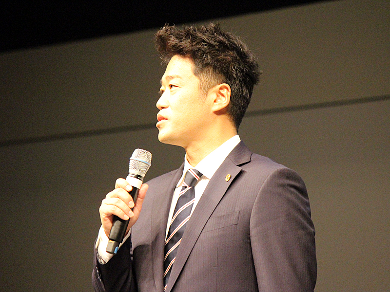 代表取締役社長に就任した古川氏